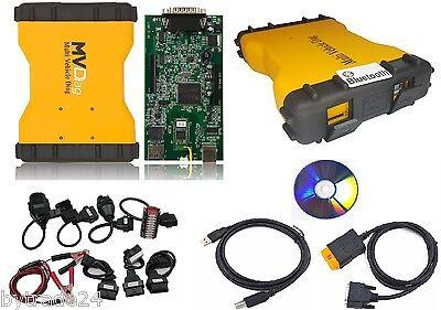 Professionelles KFZ-Diagnosegerät MVD Multiplexer Bluetooth PKW & LKW OBD1 OBD2