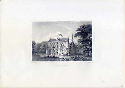 Friedrichroda-Reinhardsbrunn - Stahlstich um 1870