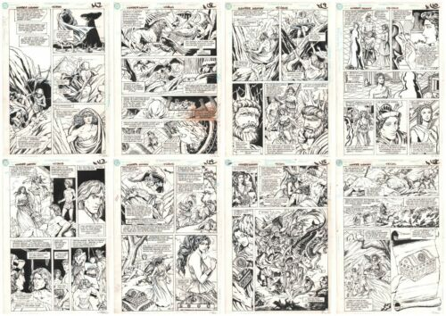 Wonder Woman #45 Eight Pages from