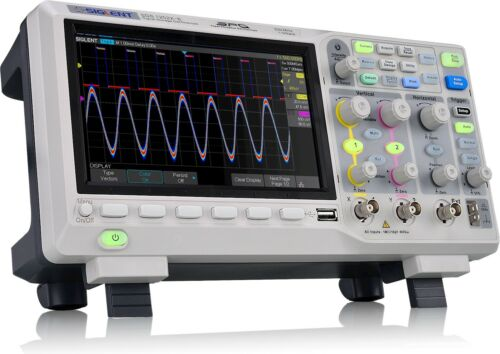 Siglent Technologies SDS1202X-E 200mhz Digital Oscilloscope 2 Channels