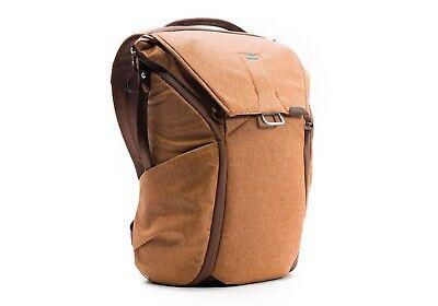 Peak Design Everyday Backpack 20L Heritage Tan. Premium Camera Rucksack.