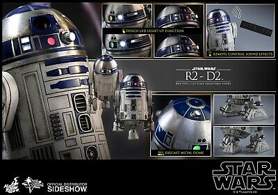 Hot Toys R2-D2 Star Wars The Force Awakens 1/6 Figure