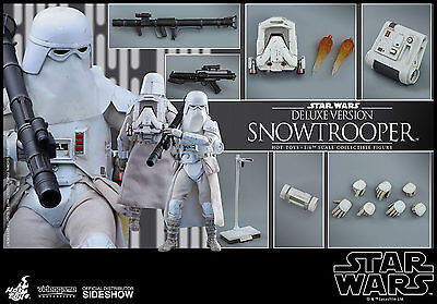 Hot Toys VGM 24 Star Wars Battlefront Snowtrooper DELUXE Version 1/6 Figure 2017
