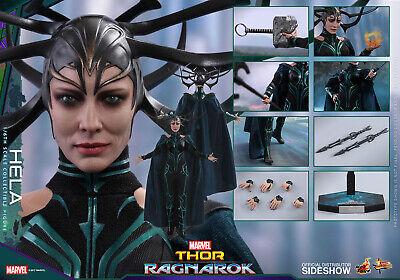Hot Toys MMS449 - Hela - Movie Masterpiece Series from Marvel's Thor Ragnarok