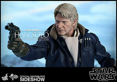 STAR WARS VII: THE FORCE AWAKENS~HAN SOLO~SIXTH SCALE FIGURE~HOT TOYS~MIB