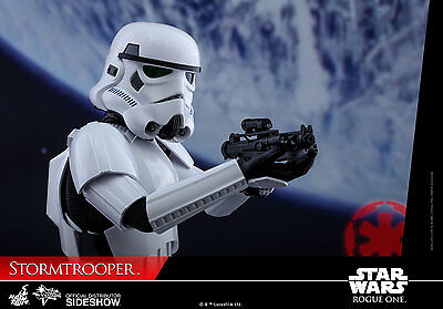 STAR WARS~ROGUE ONE~STORMTROOPER~SIXTH SCALE FIGURE~HOT TOYS~MIB