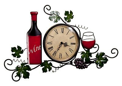 Wine Wall Clock