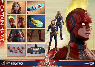 Hot Toys Captain Marvel Avengers 1/6 Scale Movie Masterpiece Figure 904462