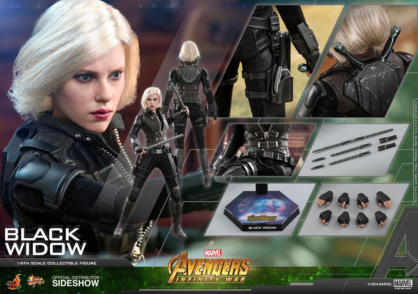 Hot Toys Black Widow Avengers Infinity War 1/6 Scale Figure