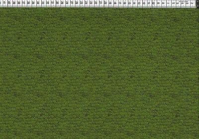 Baumwolljersey - kleine Kringel apfelgrün-dunkelgrün