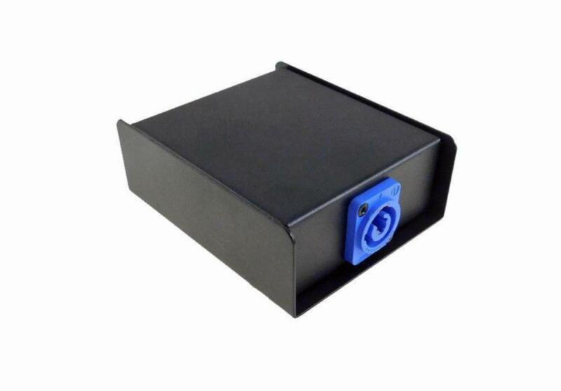 ProCraft Powercon Splitter AC Box Loaded W/ Neutrik,1 In 2 Out Not wired USAMade