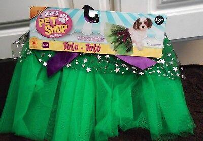 New Rubies Pet Shop Green Tutu Green Dog Sz M