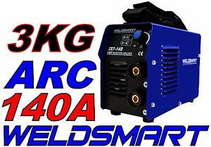 WELDSMART MINI 140-AMP ARC MMA WELDER WEIGH 3KG USED 10A PLUG Canning Vale Canning Area Preview