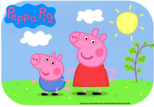 Peppa Pig Sunny Days Edible Icing Image