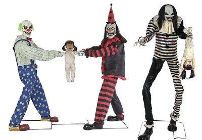 c TUG OF WAR CLOWNS & SWEET DREAMS CLOWN Prop Pre-Sale (Halloween Wars Clowns)