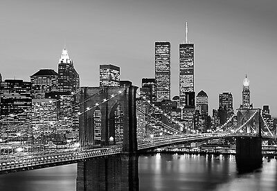 Wall Mural BROOKLYN BRIDGE photo Wallpaper Large size wall art NEW YORK CITY