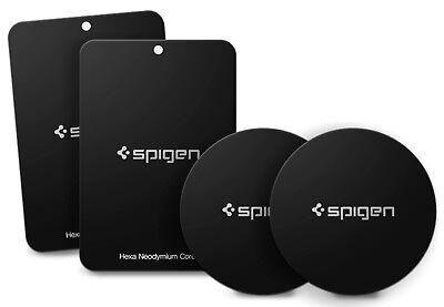 Spigen® [A210] Universal Cell Phone  Car Mount Holder QNMP Magnetic Metal Plate - Metal Plate Holder