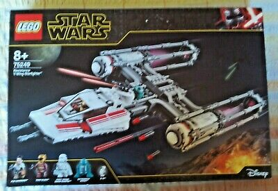 LEGO Star Wars 75249 Resistance Y-Wing Starfighter **NO MINIFIGURES**