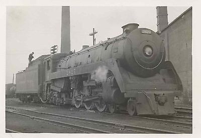 7D400f Rp 1959 Canadian Pacific Railroad Engine  2827 Royal Hudson London On