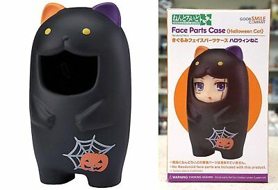 Nendoroid More Kigurumi Face Parts Case Halloween Cat Good Smile Co. Licensed NW
