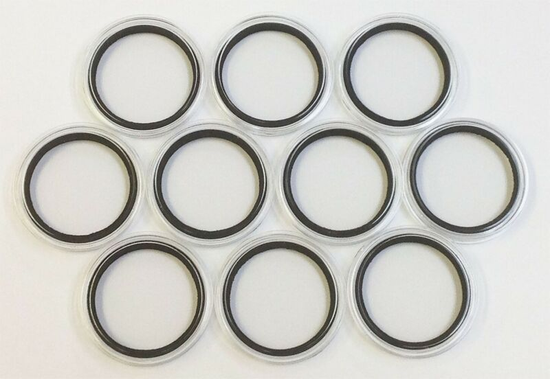 Set (10) 47mm Air Tite with Foam Rings Casino Poker Chips Holders 10 Air Tites *