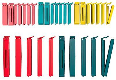 Ikea Bevara Sealing Clip, Assorted Colors, Assorted Sizes, 30-Pack (Color)