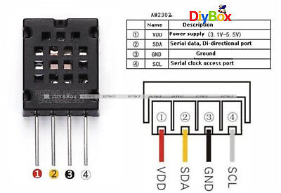 Am2320 Digital Temperature Humidity Sensor Replace Am2302 Sht10 For Arduino D