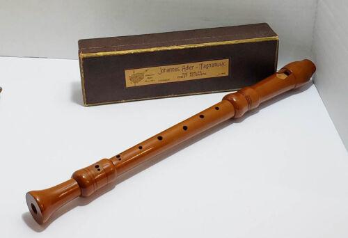 Johannes Adler F-Alto Model #1821DH Magnamusic Recorder with Box Pear
