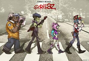 134 Gorillaz - English Virtual Band Damon Albarn Jamie Hewlett 21
