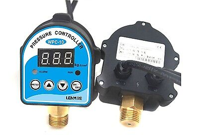 Wpc-10 G12 220v Auto Digital Electronic Water Pump Pressure Switch Controller