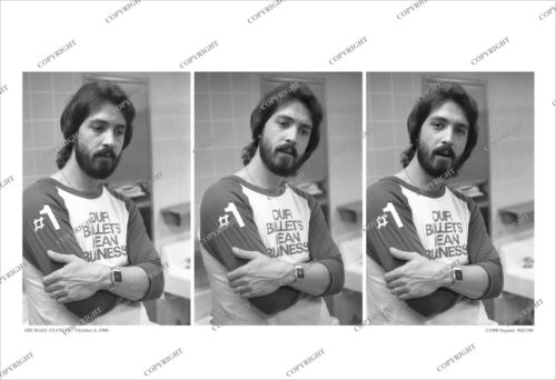 Michael Stanley 3-FRAME 1980 CANDID PHOTO SEQUENCE Numbered/Ltd/band/no-cd/lp