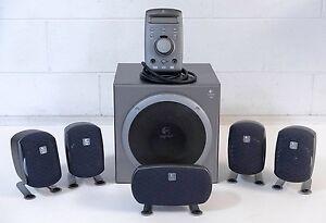 Logitech Z680 5.1 surround sound system Manunda Cairns City Preview