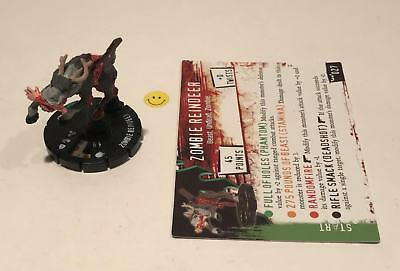 Horrorclix Nightmares Zombie Reindeer #027 with Card NEW from Booster Pack