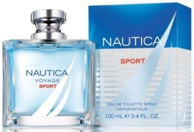 Nautica Voyage Sport By Nautica 3.4 Oz EDT Spray NIB Sealed Cologne For Men