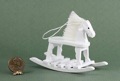 *SALE* Dollhouse Miniature Vintage Look White Wood Child