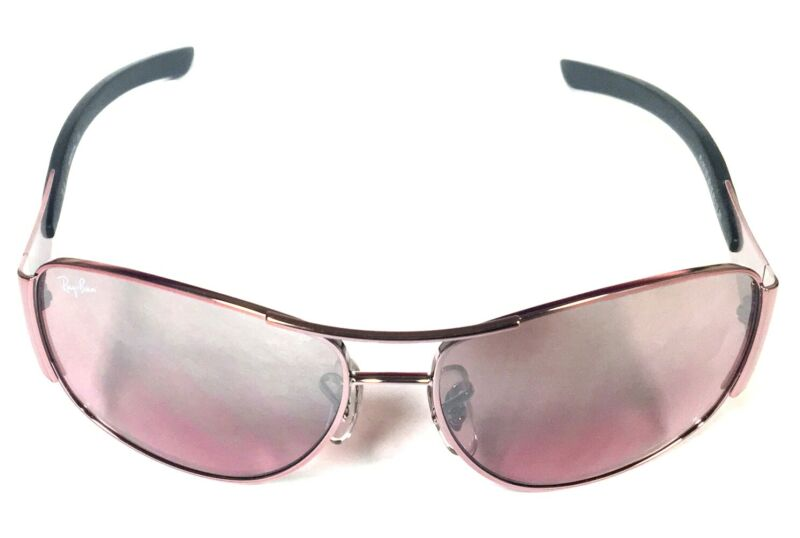 Ray Ban JUNIOR RJ9518S 221/7E Sunglasses Pink/Gray Frame Pink Lens Kids Eyewear
