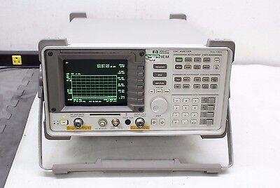 Hp Agilent 8591em Emc Analyzer W Tracking Generator 9 Khz 1.8 Ghz Calibrated