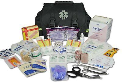 Lightning X Small First Responder EMT EMS Trauma Bag Stocked First Aid Fill -