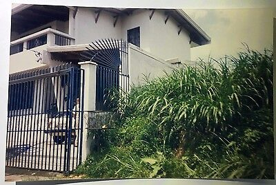 Vintage 90s PHOTO Clever Idea Decorative No Trespassing Keep Out Bars Fence - 90s Decorations Ideas