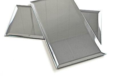 6x12 Wide Beveled Mirror Subway Tile Backsplash Wall Decorat