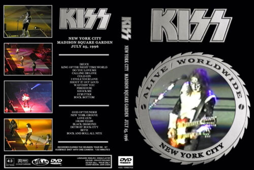 Kiss Madison Square Garden 1996 - DVD