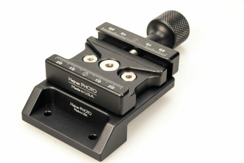 Low Profile Arca Swiss Adapter with Clamp for  COGNISYS StockShot