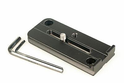 AF-S NIKKOR 200-500mm f/5.6E ED VR Lens Plate with 2 QD socket. RRS Kirk Benro ()