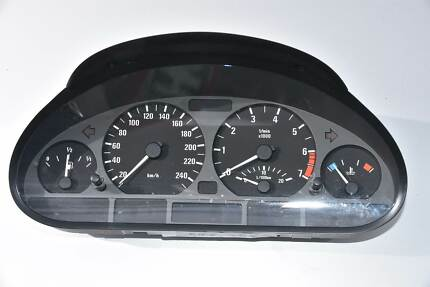 BMW E46 318i 2002 INSTRUMENT CLUSTERS Mount Pritchard Fairfield Area Preview