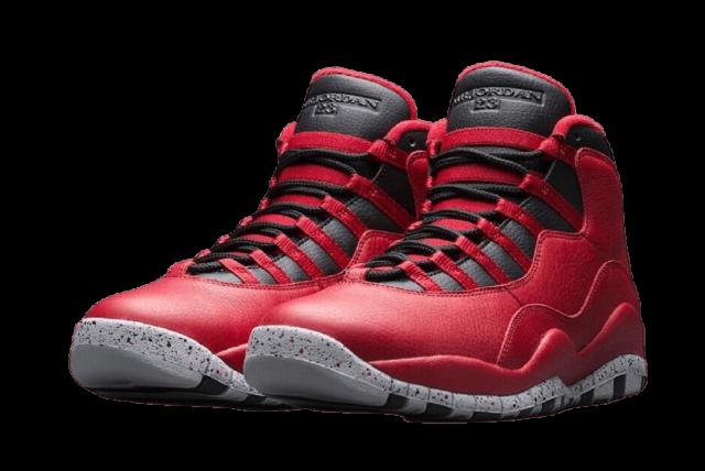 Air Jordan 10 Bulls Over Broadway Sneakers