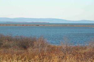 RARE Ocean Front Lot, Sweeping, Magnificent Views, Tracadie, NS
