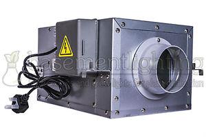 4in 100mm Acoustic Box SILENT Extractor Fan Low Noise In Line Duct Fan Grow Room