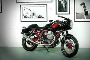 Moto Guzzi V7 Custom Racer Clifton Beach Clarence Area Preview