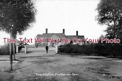 ES 546 - Frinton On Sea Railway Station, Essex - 6x4 Photo
