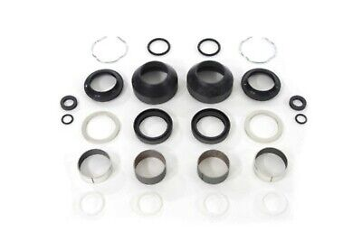41 Mm Fork Kits - 41mm Fork Rebuild Kit Seals Bearings Bushings for Harley Softail Dyna Wide Glide